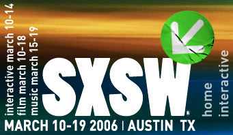 A picture of the SXSW masthead