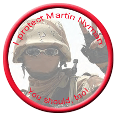 Protect Martin Nyman button