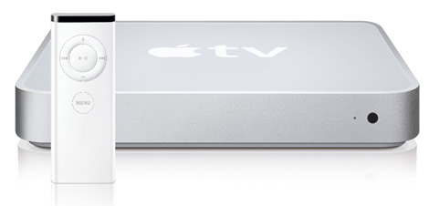 A picture of the Apple TV