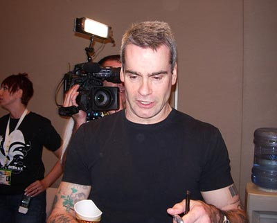 A picture of Henry Rollins in Austin