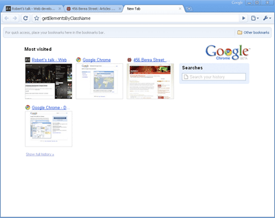 A screenshot of Google Chrome