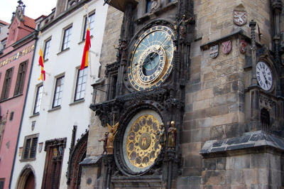 A picture of the Astronomical Clock