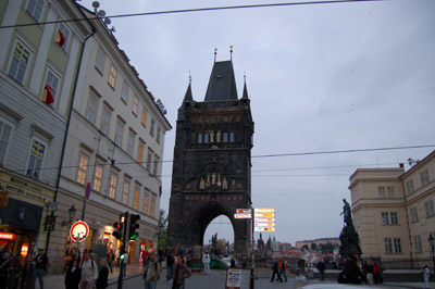 A picture of the Charles Bridge Tower
