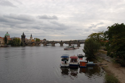 A picture of Charles Bridge