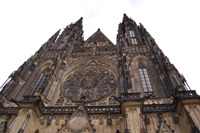 A picture of the St Vitus Cathedral