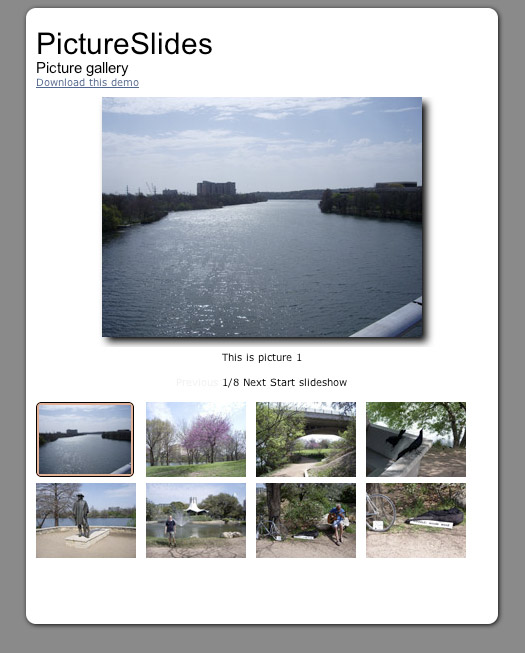 An example image of PictureSlides